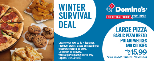 Dominos Winter Deal