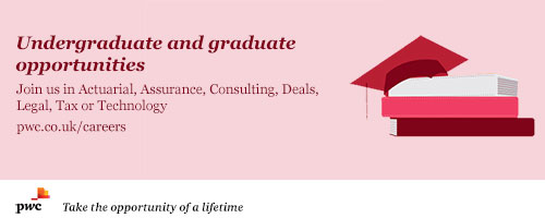 Undergraduate & graduate oppurtunities at PwC