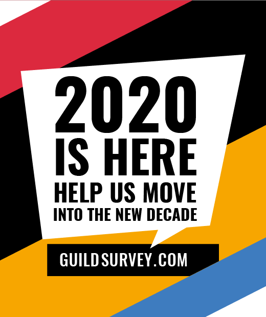 Last chance to fill in our Guild Survey