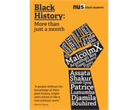 NUS poster for Black History Month
