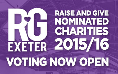 Raise and Give Nominated Charities 2015/16 - Voting Now Open