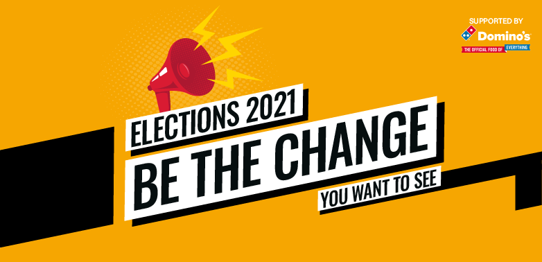 Be the change - stand in the election