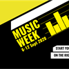 Music Week is back for 2019. Click here for more information on how you can get involved.