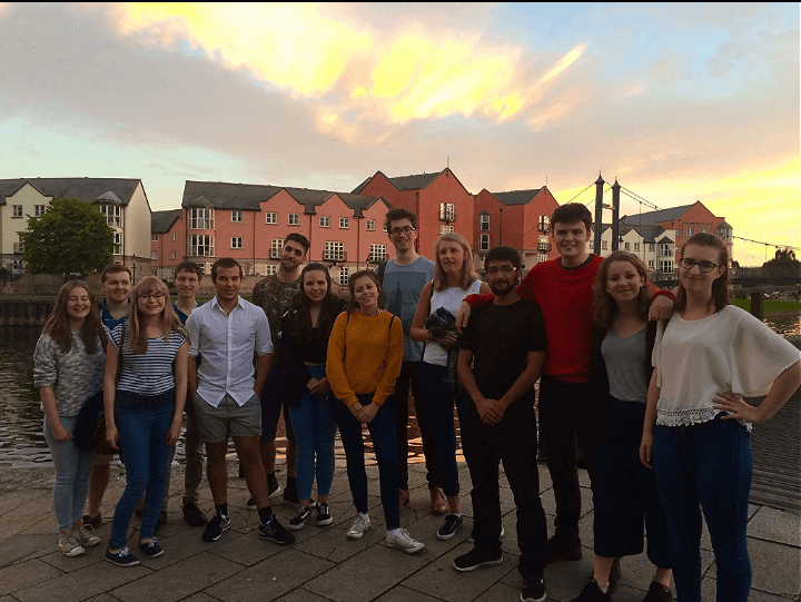 The group of first years from Music and Orchestra Week 2016