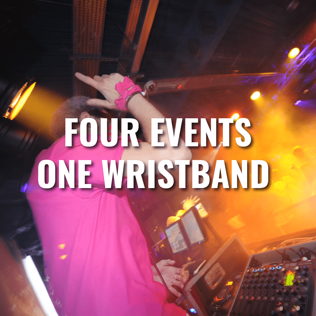 Four events one wristband