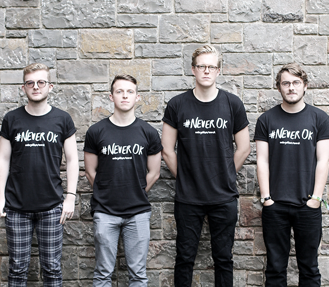 The sabbs wearing #NeverOK