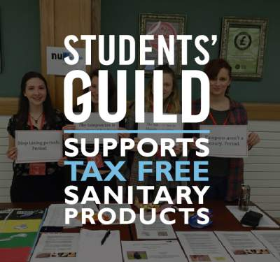 Support tax free sanitary products