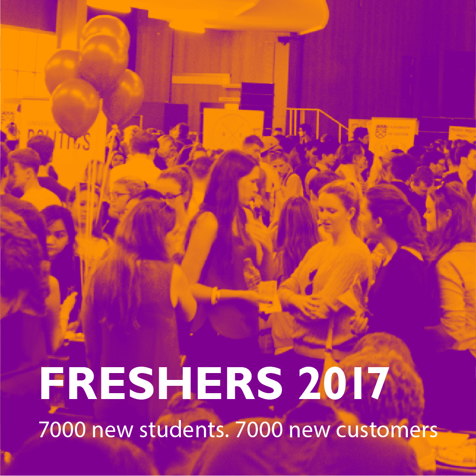 Freshers' 2017 - Find out more